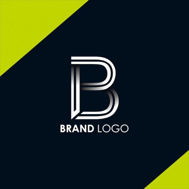 Buchstabe b logo vorlage vektor. b monogramm logo vektor. b symbolvektor. Premium Vektoren