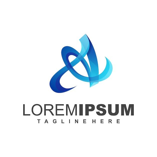 Buchstabe b-logo Premium Vektoren