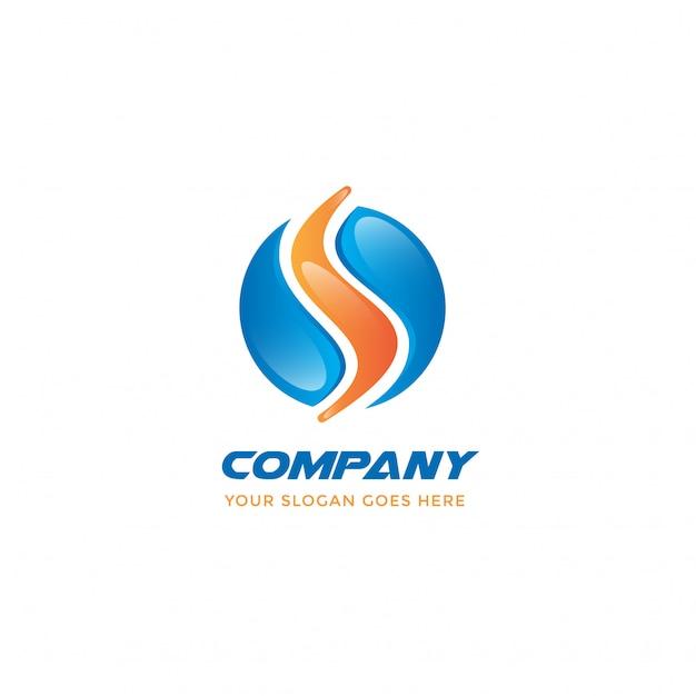 Buchstabe s logo Premium Vektoren