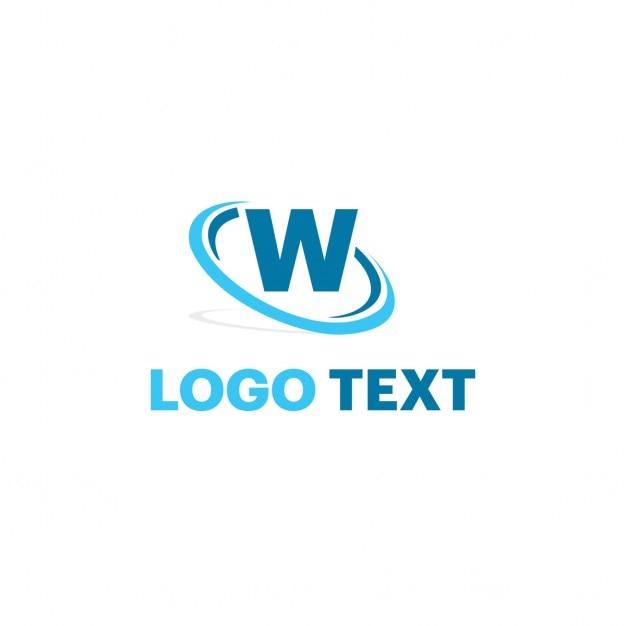 Buchstabe W Logo Kostenlose Vektoren
