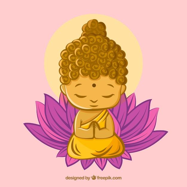 Buddha-hintergrund Kostenlosen Vektoren