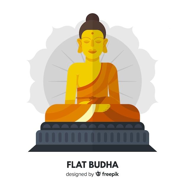 Buddha hintergrund Kostenlosen Vektoren