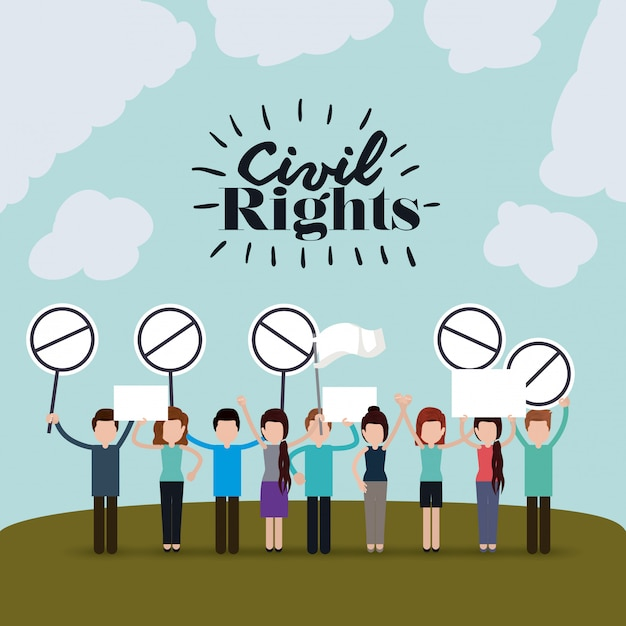 Bürgerrechte Kostenlosen Vektoren