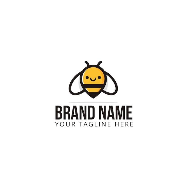 Bumble Biene Honig Bienenstock Logo Vorlage icon | Download der ...