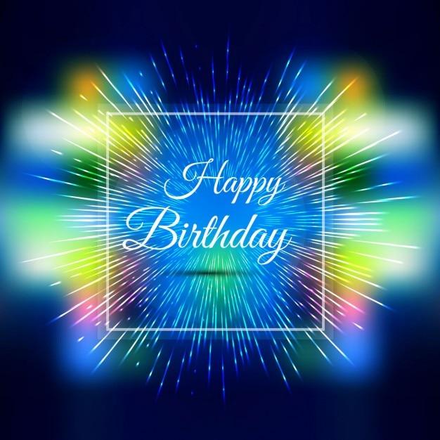 Bunte Alles Gute Zum Geburtstag Hintergrund Download Der
