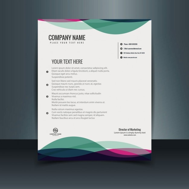 Brochure Design Brief Template