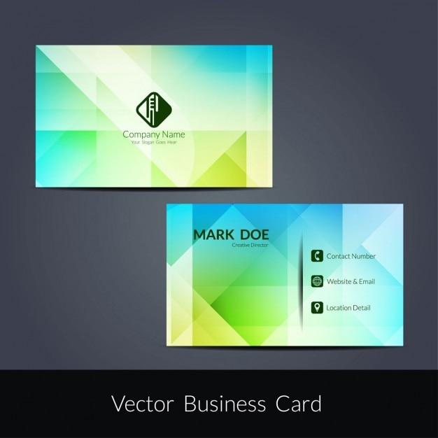 Bunte Moderne Visitenkarte Design Download Der Kostenlosen