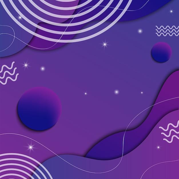 Bunter abstrakter hintergrund, trendiges geometrisches muster, moderner, lebendiger farbverlauf für banner, plakate, poster, flyer, Premium Vektoren