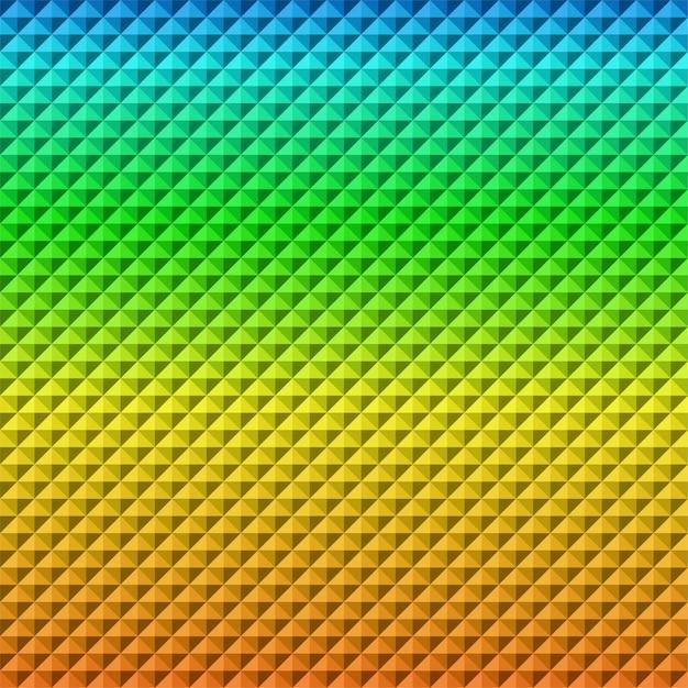 Bunter farbverlauf geometrischer abstrakter fliesentextur-hintergrund Premium Vektoren
