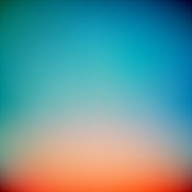 Bunter sonnenuntergang-steigungs-vektor-hintergrund Premium Vektoren