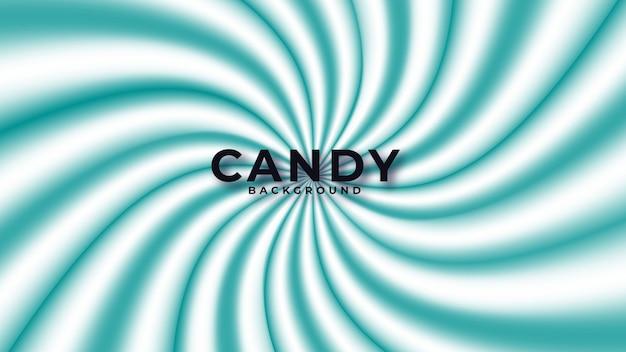 Bunter süßigkeitszusammenfassungshintergrund Premium Vektoren
