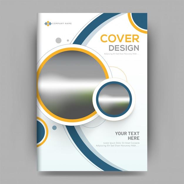 Business-cover-design Premium Vektoren