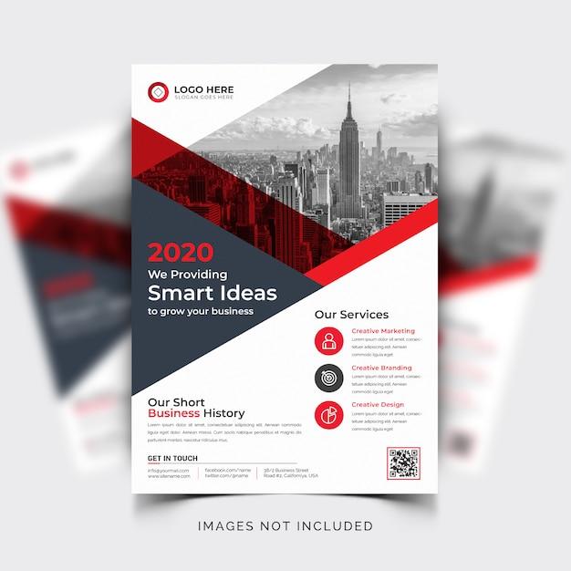 Business flyer vorlage Kostenlosen Vektoren