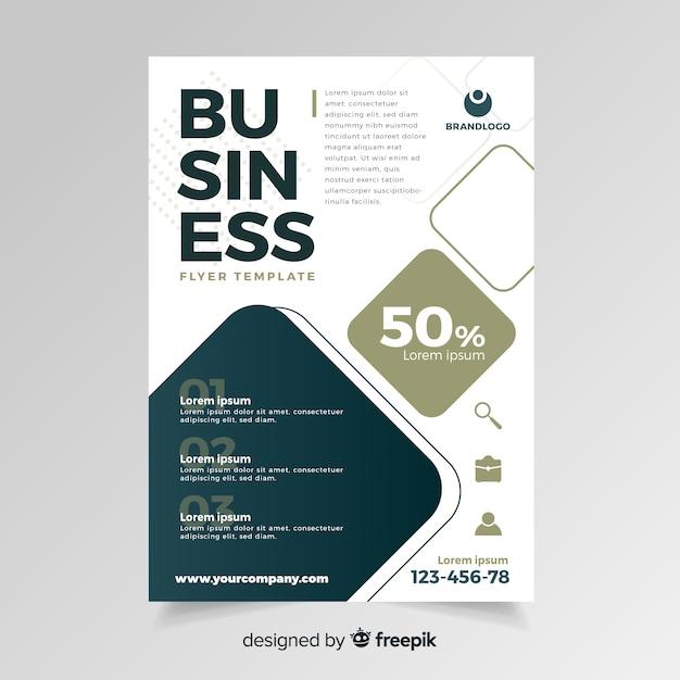 Business-flyer Kostenlosen Vektoren