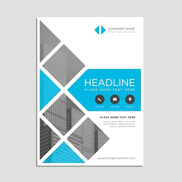 Business-Poster Vorlage Kostenlose Vektoren