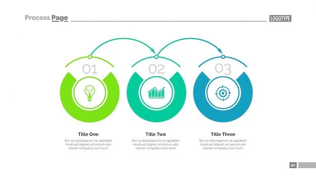 Business-timeline-folienvorlage Kostenlosen Vektoren