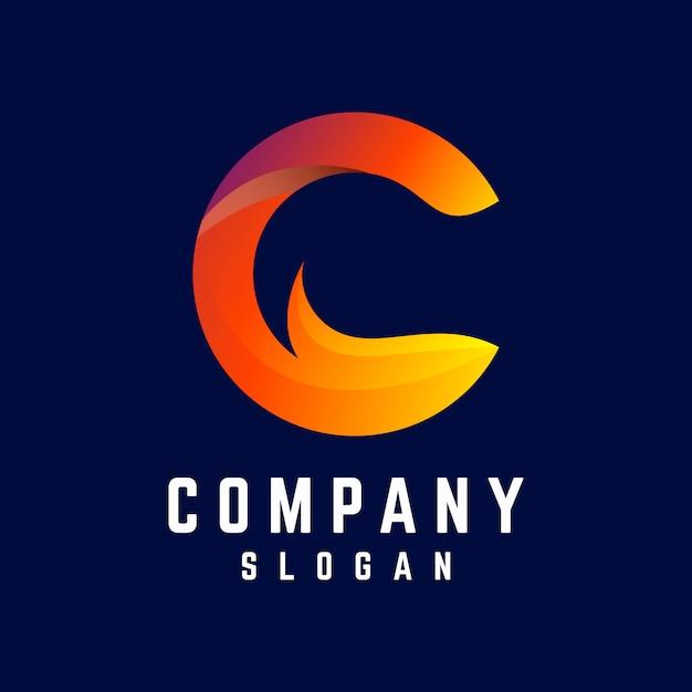 C logo-design Premium Vektoren