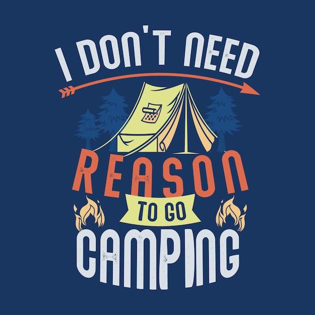 Camping Spruche Und Zitate Download Der Premium Vektor