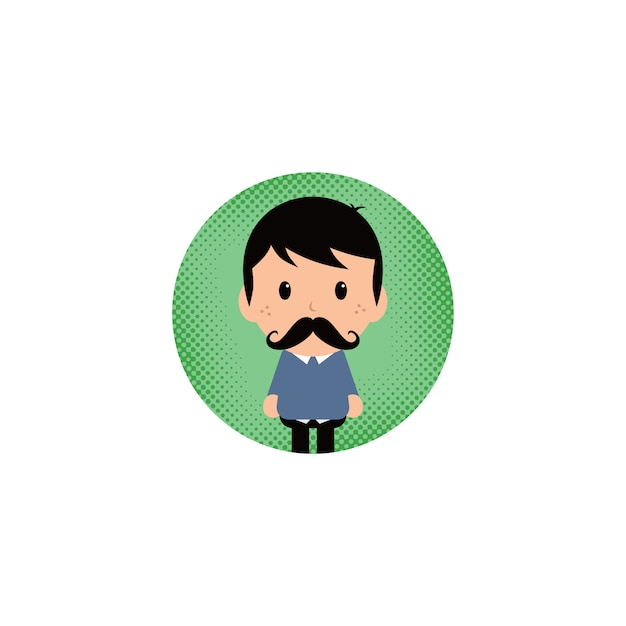 Cartoon-avatar Premium Vektoren