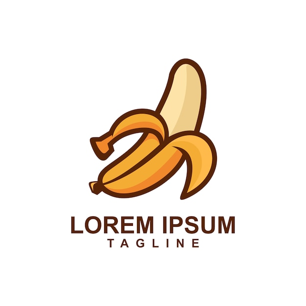 Cartoon-frucht-mango-logo Premium Vektoren