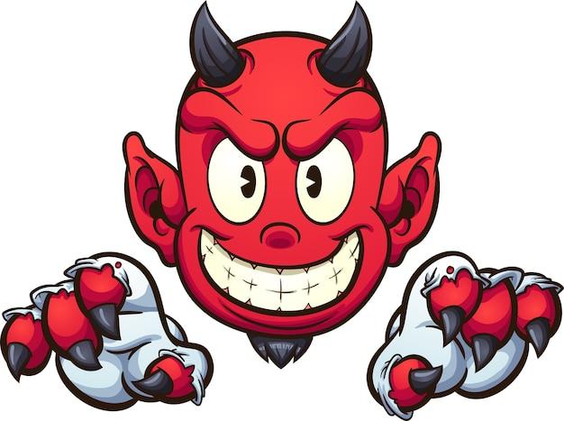 Teufel Cartoon