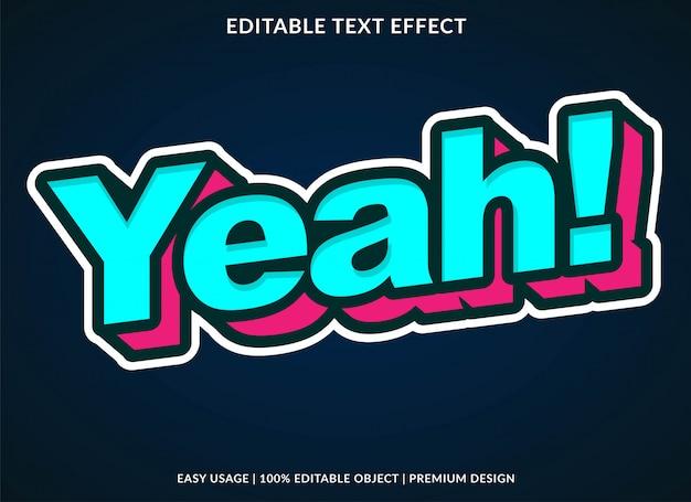 Cartoon-text-effekt Premium Vektoren