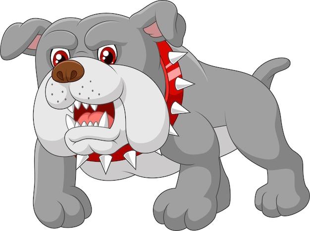 Cartoon wachhundehaus Premium Vektoren