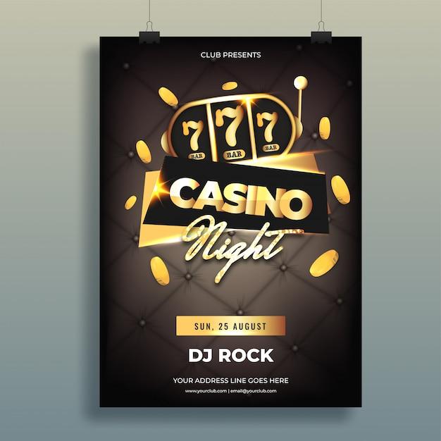 Casino hintergrund. Premium Vektoren