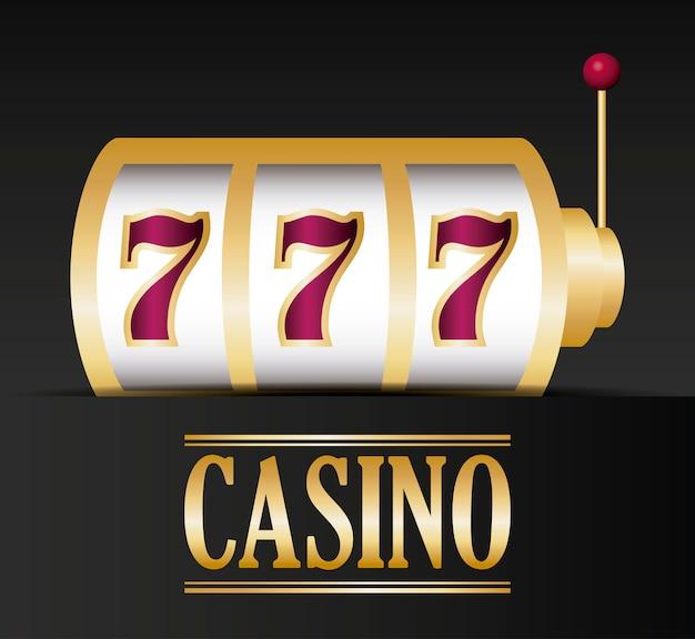 Casino-konzept Kostenlosen Vektoren