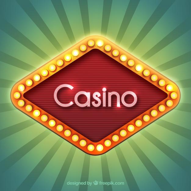 Casino Schild