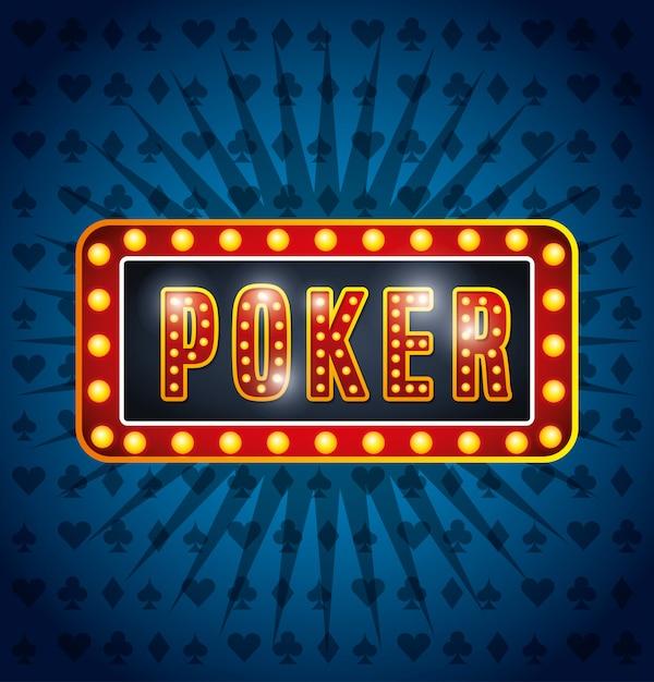 Casino-spiele-design Kostenlosen Vektoren