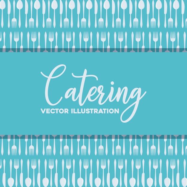 Catering-konzept Kostenlosen Vektoren