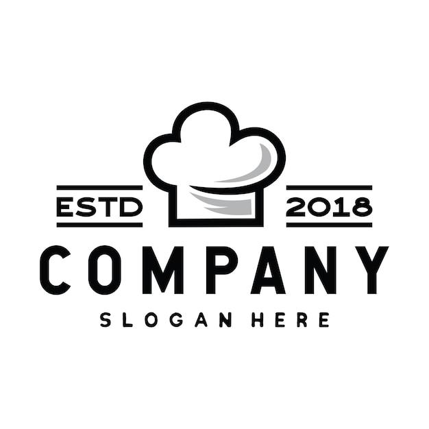 Chef und kochen logo design inspiration vektor Premium Vektoren