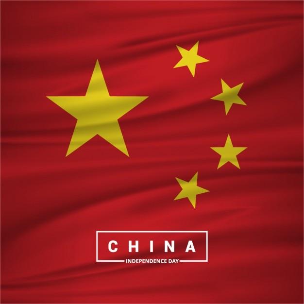 China independence day Kostenlosen Vektoren