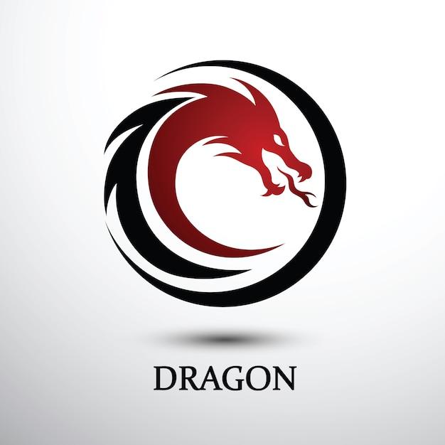 Chinesischer drache-vektor Premium Vektoren