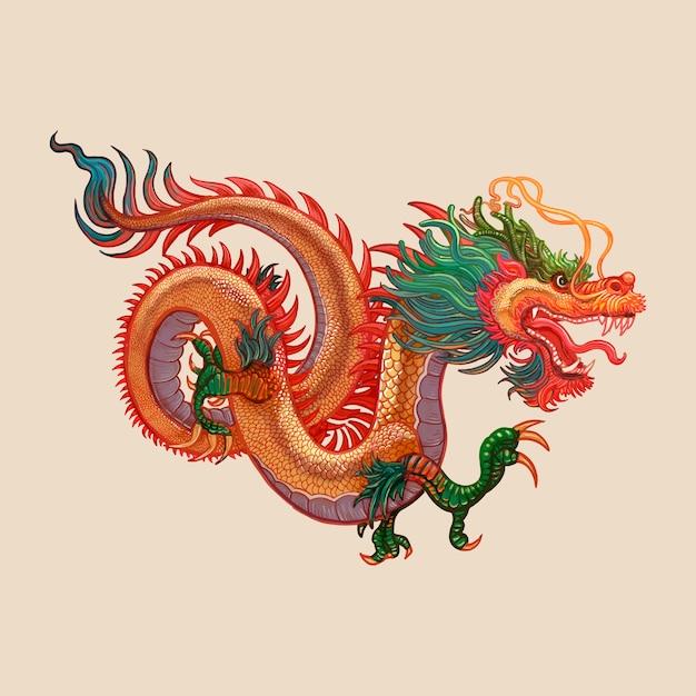 Chinesisches neujahr Premium Vektoren