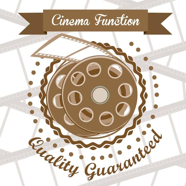 Cine-symbol Premium Vektoren
