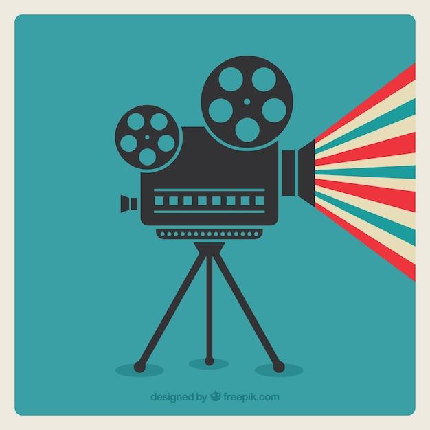 Cinema-kamera Premium Vektoren
