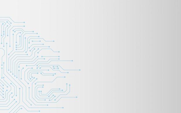 Circuit board abstrakten hintergrund Premium Vektoren