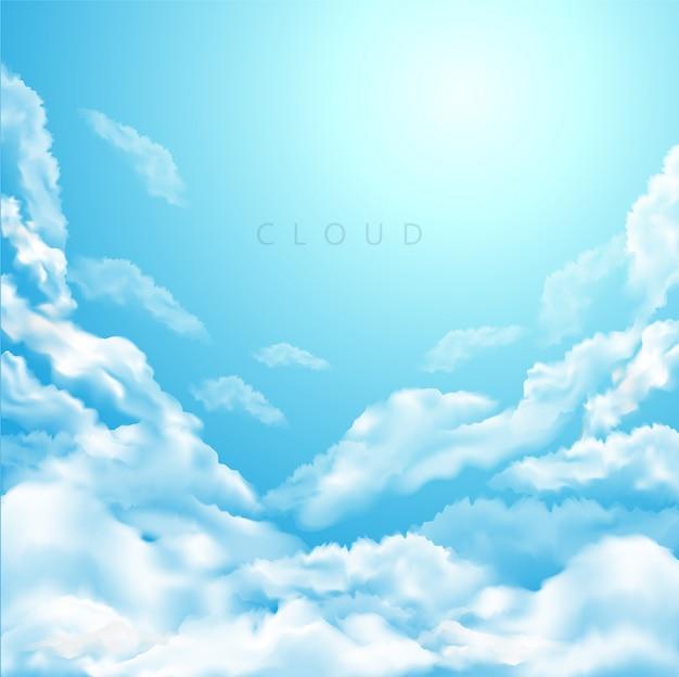Clouds_sky Premium Vektoren