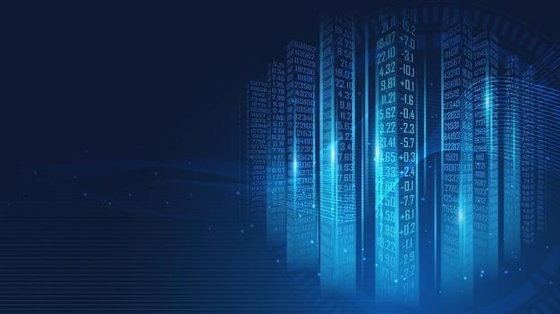 Code-matrixhintergrund der digitalen daten Premium Vektoren