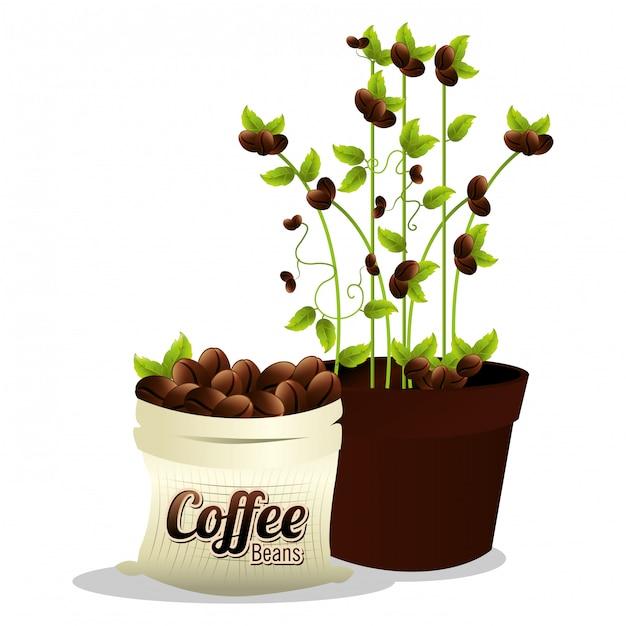 Coffeeshop und getränk Kostenlosen Vektoren