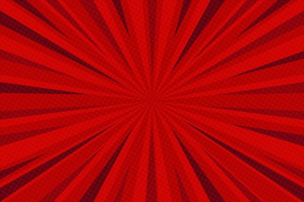 Comic-stil hintergrund rot gefärbt Kostenlosen Vektoren