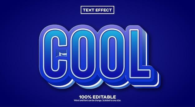Cooler texteffekt Premium Vektoren