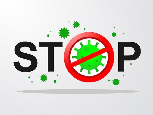 Coronavirus 2019-ncov und virushintergrund mit krankheitszellen.covid-19 corona-virus-ausbruch und pandemie-konzept für das medizinische gesundheitsrisiko Premium Vektoren