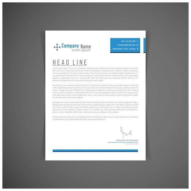 Corporate identity set oder kit für ihr business letter vorlagen vector format editierbaren platz für text Kostenlosen Vektoren
