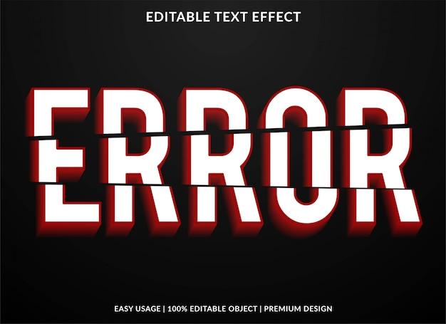 Crash-text-effekt Premium Vektoren