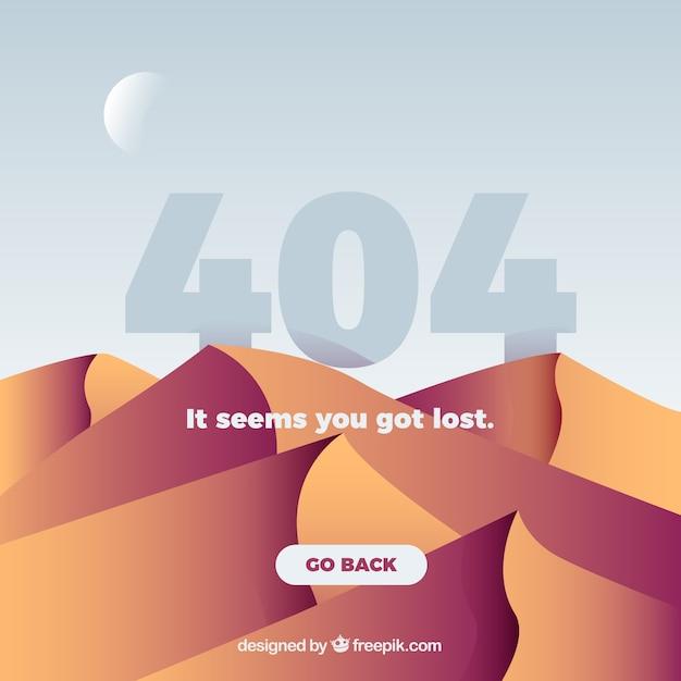 Creative 404-fehlerentwurf Kostenlosen Vektoren
