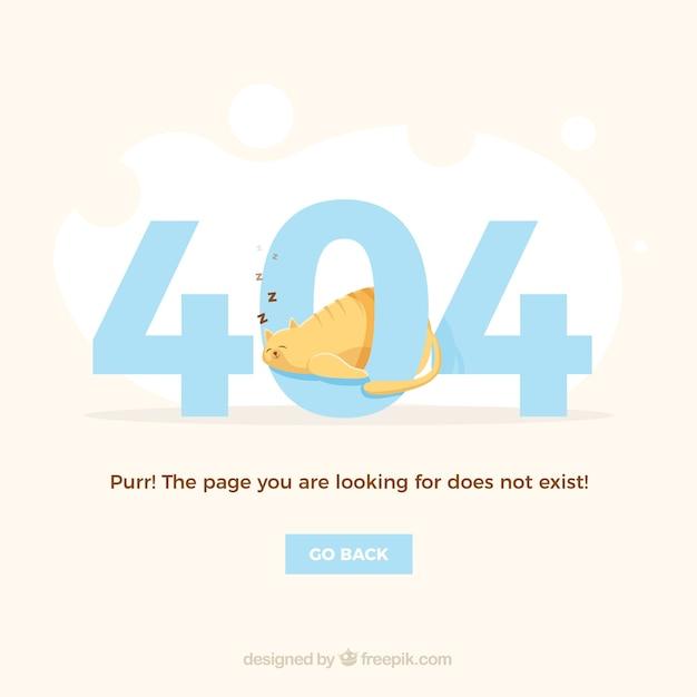 Creative 404-fehlerhintergrund Kostenlosen Vektoren