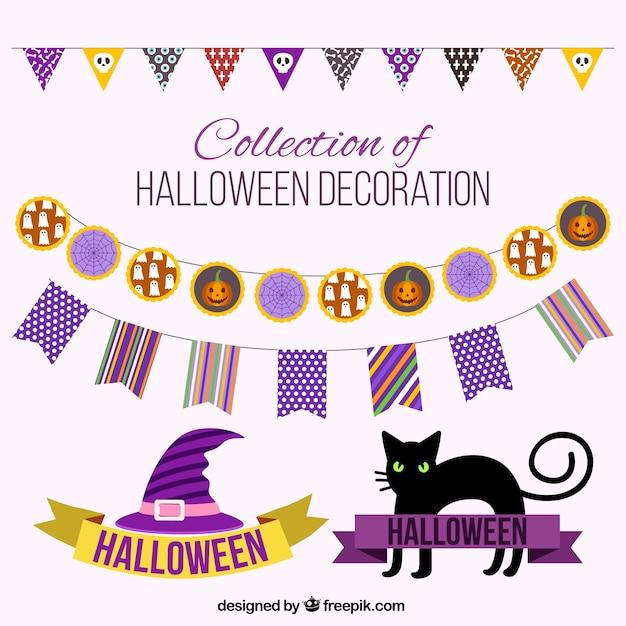 Creepy dekoration f r halloween download der kostenlosen vektor - Dekoration fur halloween ...